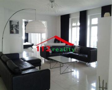 112reality - Na prenájom luxusný 4 izbový byt 170m2 , terasa, 2 kúpeľne, krb, garáž, Staré Mesto, PALISÁDY