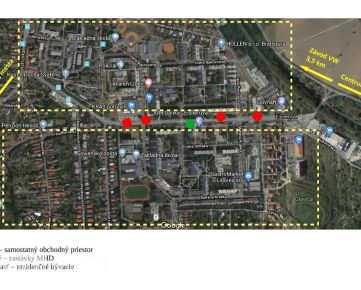 EISNEROVA - samostatný obchodný priestor, 40 m2, 5.200 ľudí denne, VÝNOS 650 EUR + energie