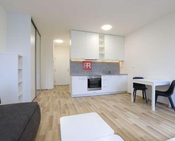 HERRYS - Na prenájom kompletne zariadený 1 izbový byt v novostavbe ČEREŠNE v Dúbravke