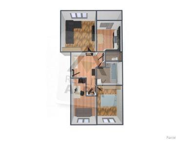 3 - izbový byt / 70m2 / Žilina - Hájik