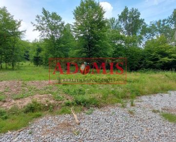 ADOMIS - Predám pekný pozemok č.4 uprostred prírody na výstavbu chaty,chalupy,600m2,aj odpočet DPH,smerom na Detský tábor Kysak Brezie, Košice okolie.