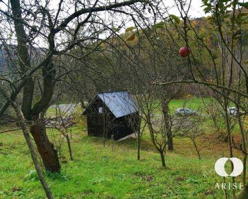 Výnimočný pozemok uprostred prírody v obci Horná Ves časť Rudica