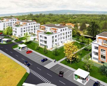 DUBOVÁ ALEJ - 2izbový byt (SO.01, byt C.1.II) s terasou a predzáhradkou, Ivanka pri Dunaji