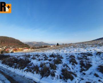 Pozemok pre bývanie na predaj Žilina 730m2, 8km od mesta - exkluzívne v Rh+