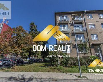 DOM-REALÍT a Dispozicne výborný 3izb byt bez balkóna, Medzilaborecká ulica