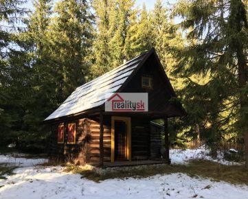 Predám unikátny zrub uprostred Tatranskej prírody hneď vedľa Bieleho Váhu