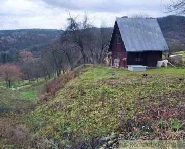 Rekreačná chata v tichom prírodnom prostredí s výhľadom nad Nimnicou na predaj