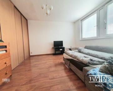 .Prenajmeme 1 izbovy byt na Fedinovej ul. v Petržalke, kompl.zar.,420€, Bez depozitu!