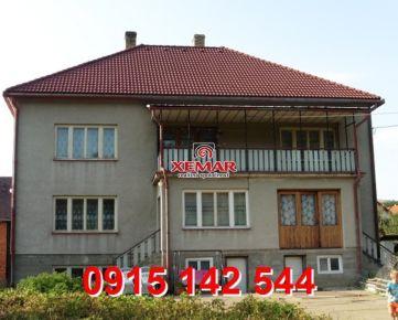 Na predaj väčší rodinný dom v Hriňovej