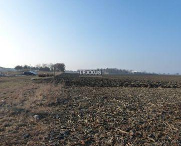 LEXXUS-PREDAJ, rozsiahly pozemok v Moste pri Bratislave, Senec
