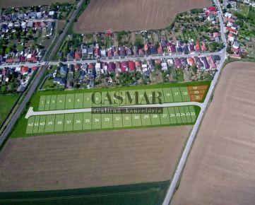CASMAR RK - Stavebný pozemok na radovú výstavbu domov, 994 m2