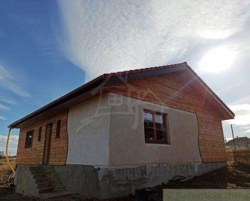 Prírodná novostavba domu v Trenčianskom Jastrabí na predaj