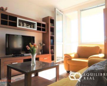 (REZERVOVANÝ) Na predaj útulný a zariadený 2i byt s luxusným výhľadom!