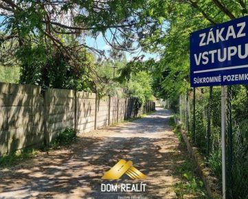 DOM-REALÍT ponúka ZÁHRADU pri Devínskej ceste (Zlaté schody)