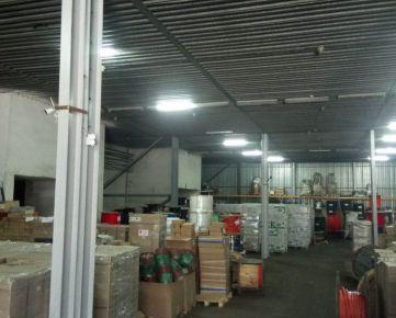 NA PRENÁJOM skladový/výrobný objekt so sociálnym zázemím, Košice IV