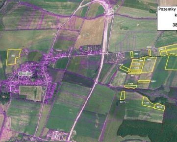 Predaj ornej pôdy BPEJ 6 o výmere 35,1ha v obci Tornaľa