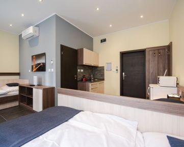PRENÁJOM - kompletne zariadené apartmány v novostavbe apatmánového domu, Petržalka.
