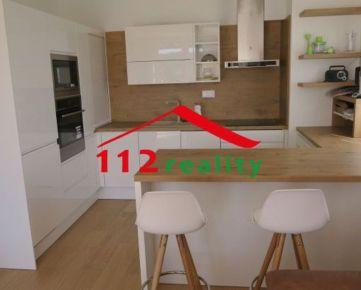 112reality - Na prenájom veľký 3 izbový byt s terasou 80m2, parking, novostavba blízko prírody, Záhorská Bystrica
