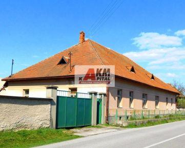 Rezervovaný rodinný dom v Lieskovci +3786m2 pozemok, okr Zvolen