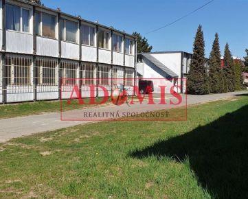 ADOMIS - predaj komerčný objekt pre výrobu a sklad, Košice, časť Barca, Južná trieda, vo funkčnom priemyselnom areály