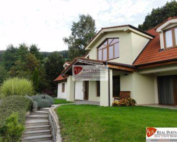 REB. sk Borinka luxusná vila pod lesom na predaj UP 459 m2