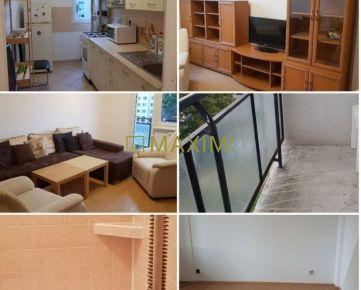 Čiastočne zariadený 3- izbový byt na Zálužickej ulici s loggiou