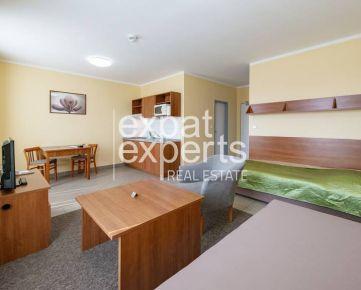 Príjemný 1i apartmán, 25m2, výborná lokalita, zariadený, petfriendly