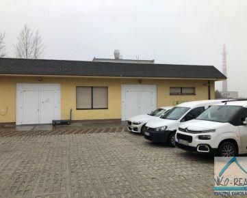 Prenájom budovy s veľkokapacitnou kuchyňou, skladmi a kancelárskou časť, BA IV - Dúbravka