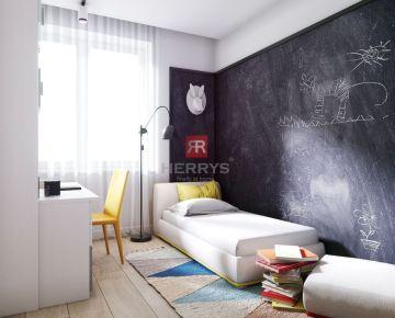 HERRYS - Na predaj 3 izbový byt v novom rezidenčnom projekte Byty Bystrická 2