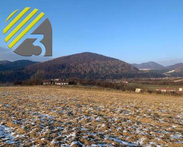 Pozemok s výhľadom v obci Krasňany