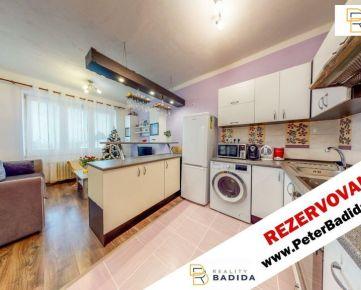 *** REZERVOVANÉ***   Slnečný a tehlový, rekonštruovaný, 2 izbový (56m2) byt s balkónom, v širšom centre mesta na Levočskej ul., Prešov