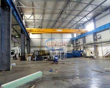 NAJ cena! Moderná, kompletne vybavená výrobná hala s vlastným administratívnym a hygienickým zázemím