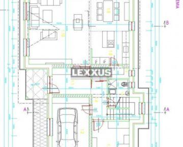 LEXXUS-PREDAJ, novostavba rozostavaného rodinného domu, obec Majcichov