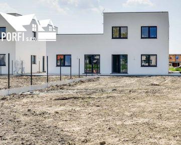 3 izbový byt (83,2m2) s veľkým pozemkom (367m2), 2x parkovacie státie, novostavba