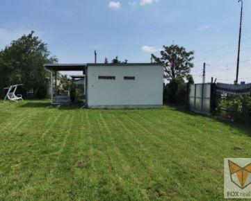 FOX - záhrada na predaj * časť Nemečanka * s celoročne obývateľnou chatkou