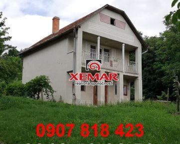 Na predaj chata vo Vinici v  okrese Veľký Krtíš