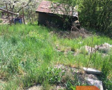 Na predaj záhradka, 583 m2 v tichej záhradkárskej oblasti s krásnym výhľadom nad obcou Košice-Ťahanovce.