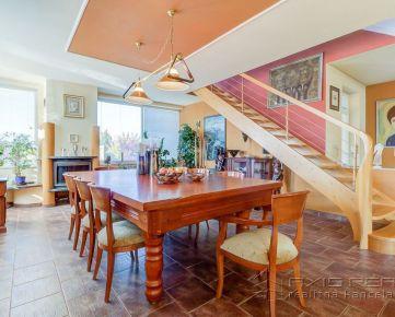 360° VIRTUÁLNA PREHLIADKA:: Rodinný dom s nadštandardnou výbavou a pozemkom, Necpaly