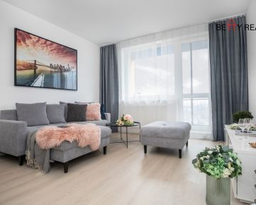 2i byt BA - Ružinov, Ružinovská, NOVOSTAVBA, 66 m2, slnečný - výborne priestorovo a dizajnovo riešený ...IHNEĎ