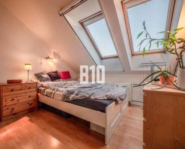 ŠIKOVNÝ 2 izbový byt  na Trnavskom mýte s tichým a priestranným vnútroblokom