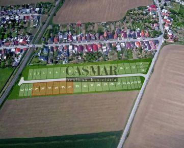 CASMAR RK - Pozemok so všetkými IS v novej lokalite 553 m2