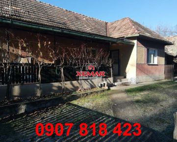 Na predaj rodinný dom s rozľahlým pozemkom vo Veľkom Krtíši.