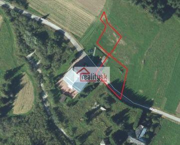 Investičný pozemok v obci Zuberec