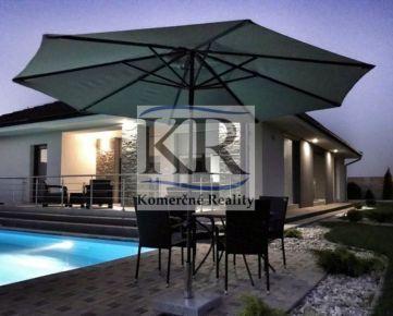 Luxusná novostavba rodinného domu 180m2 v Dvoroch nad Žitavou na predaj
