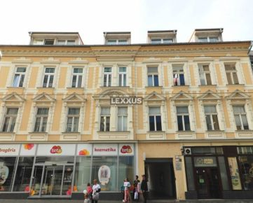 LEXXUS-PREDAJ 5i byt s vysokými stropmi v centre mesta, BA I. , 144, 80 m2