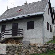Chalupa, rekreačný domček 72m2, pôvodný stav