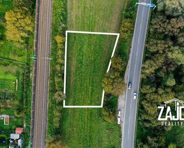 Na predaj pozemok o výmere 1612m2 vhodný na komerčné/priemyselné účely