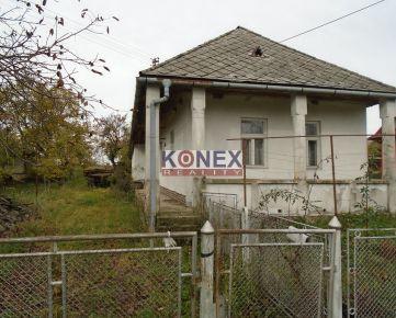 KONEX REALITY – Rodinný dom v obci Baškovce, 5 km od Sobraniec