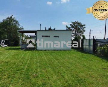 TIMA Real - Murovaná chatka so záhradou 431m2, Nemečanka, Trnava