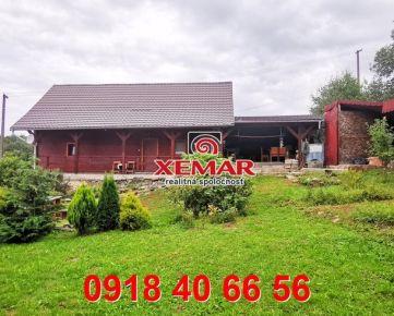Na predaj rodinný dom pri Krupine v obci Zemiansky Vrbovok.